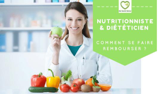 dieteticien nutritionniste remboursement