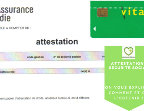 attestation securite sociale